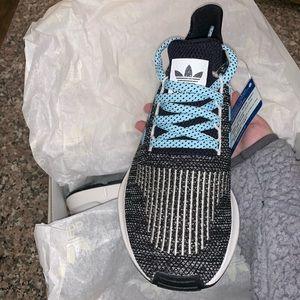6979b7c3ad63f adidas Shoes - Mi Adidas Swift run- icy blue